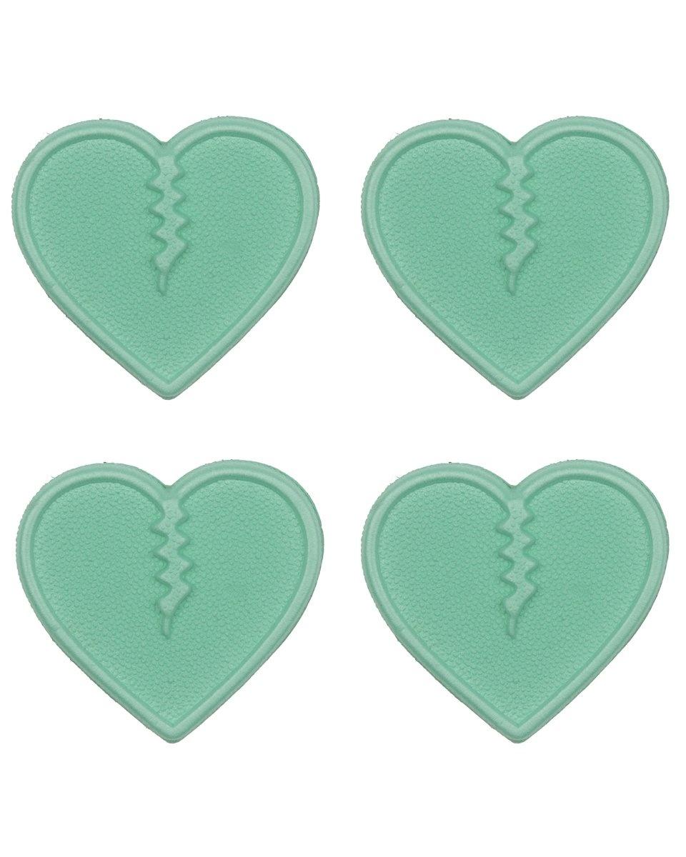 Mini Hearts Aqua