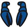 Mega Claw Blue