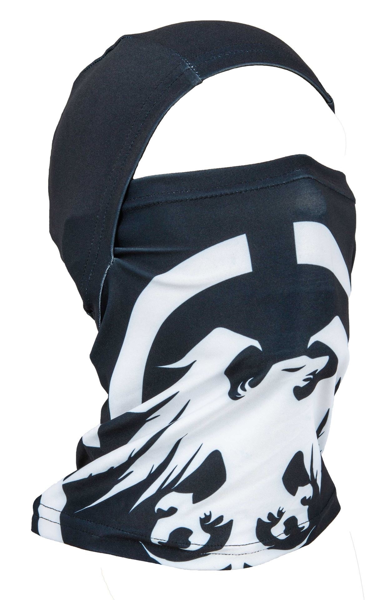 Timberline Convertible Balaclava BLK/WHT Eagle