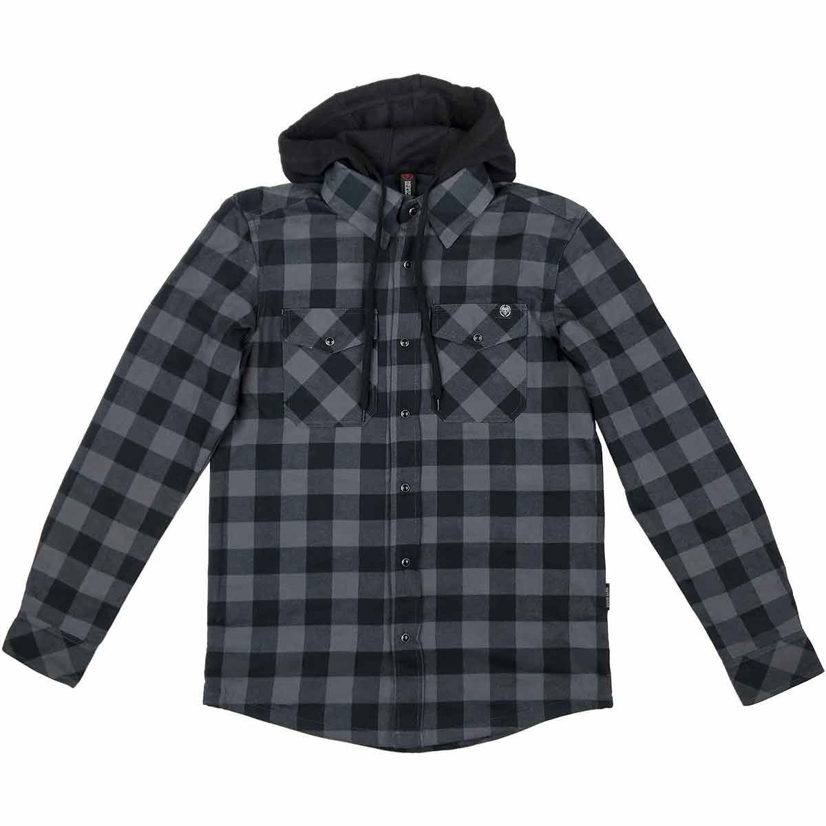 Ridgeline Hooded Flannel