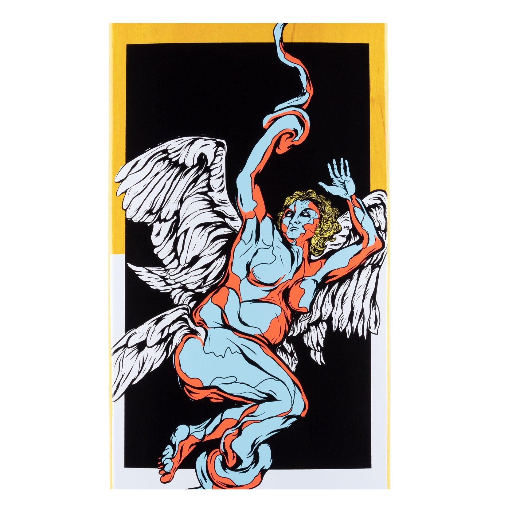 "Seraphim on Big Bunyip - Black/White - 8.5"""