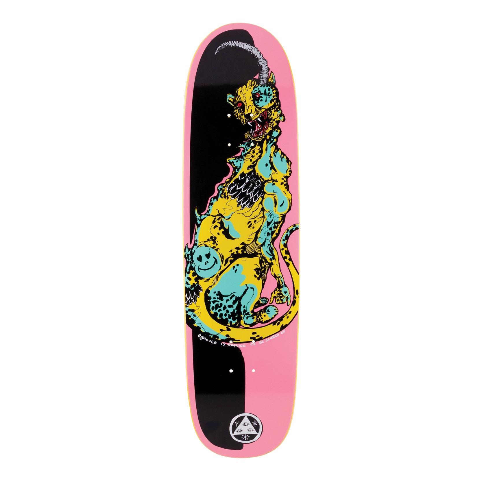"Cheetah on Slyphstick - Pink/Black - 8.5"""