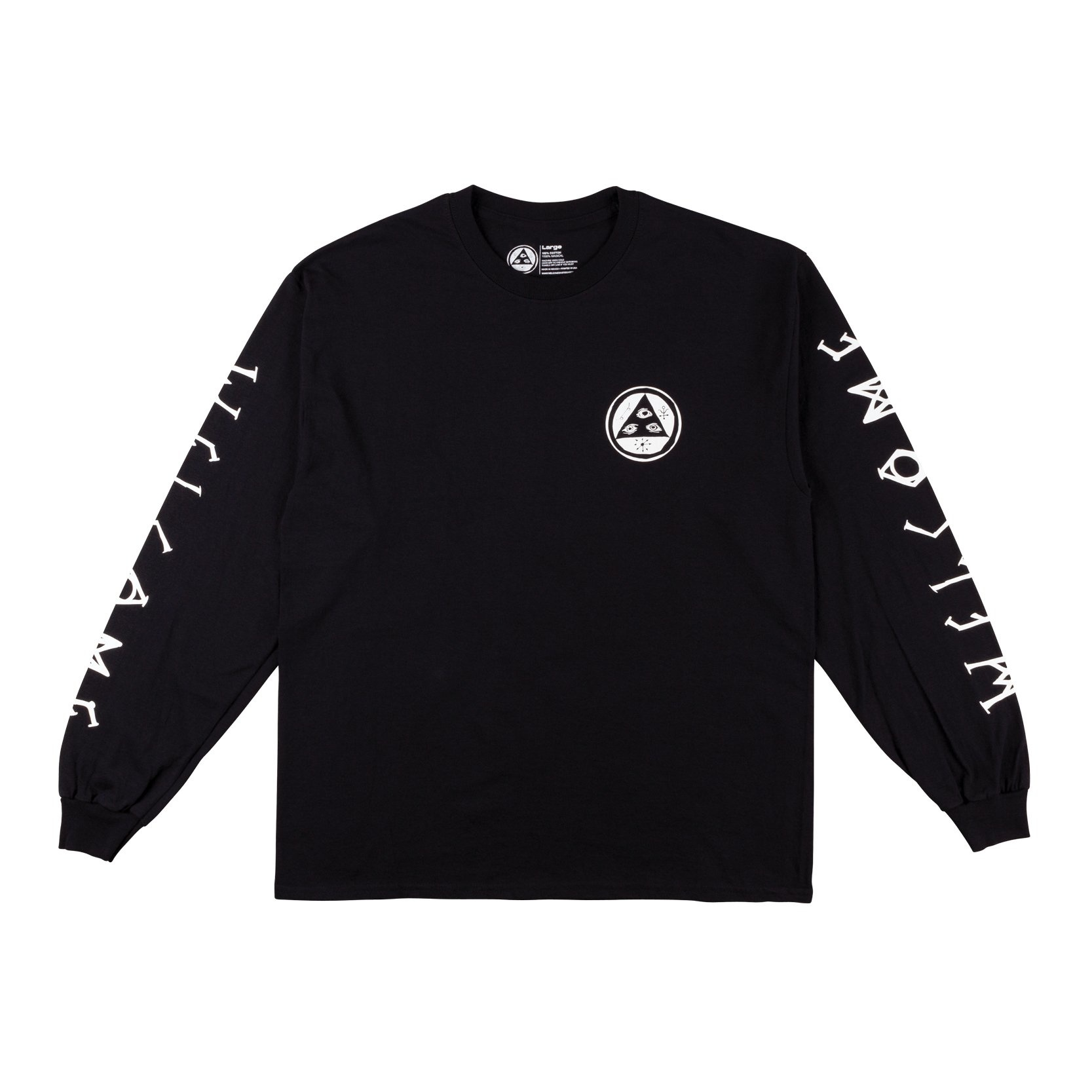 Tali-Scrawl Long Sleeve Tee - Black/White
