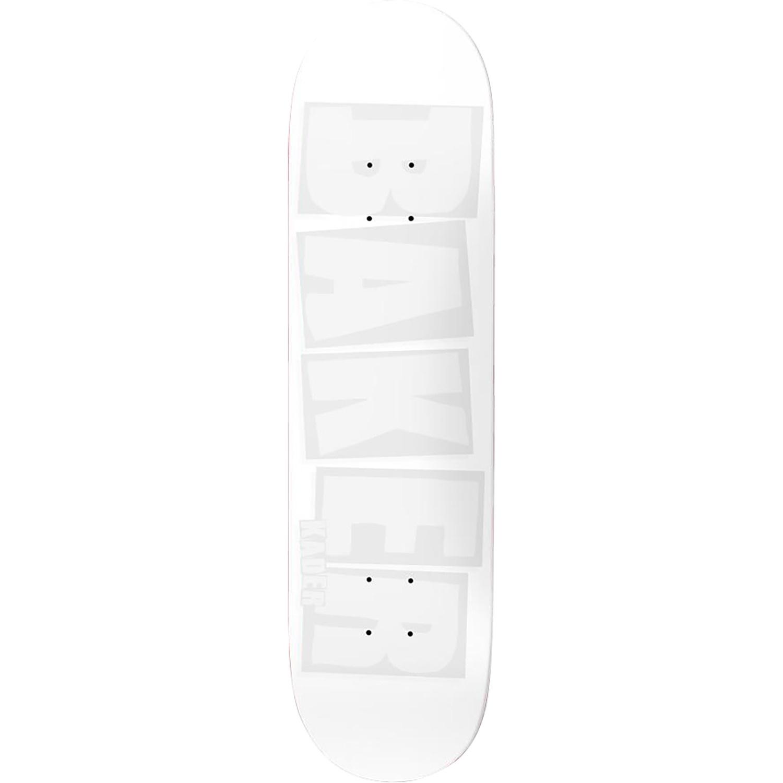 Sylla Brand Name Deck 8.38 White Tonal