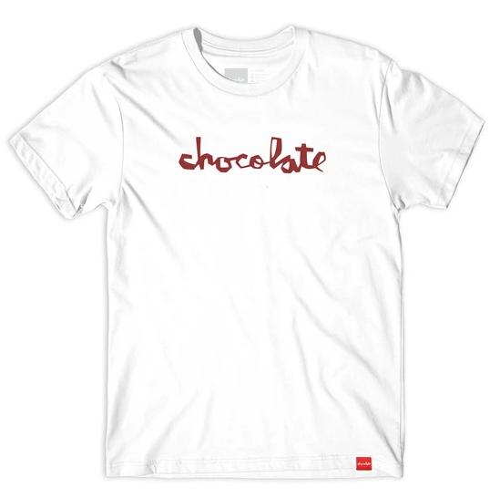 Chocolate Chunk Tee White