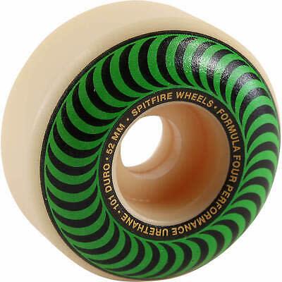 SPITFIRE F4 101a CLASSIC SWIRL WHT W/GREEN (52mm)