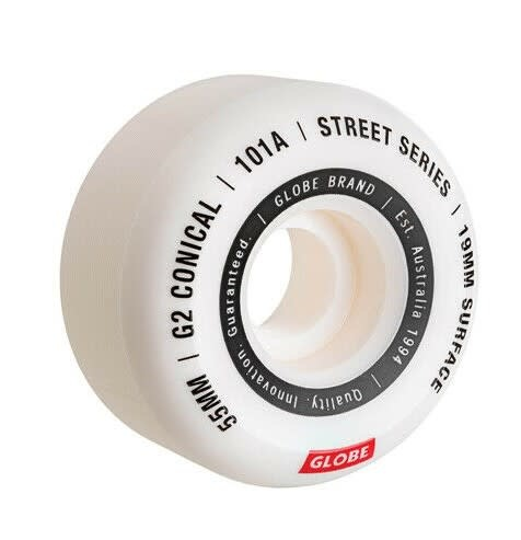 G2 Conical Street Wheel White/Essential 55mm