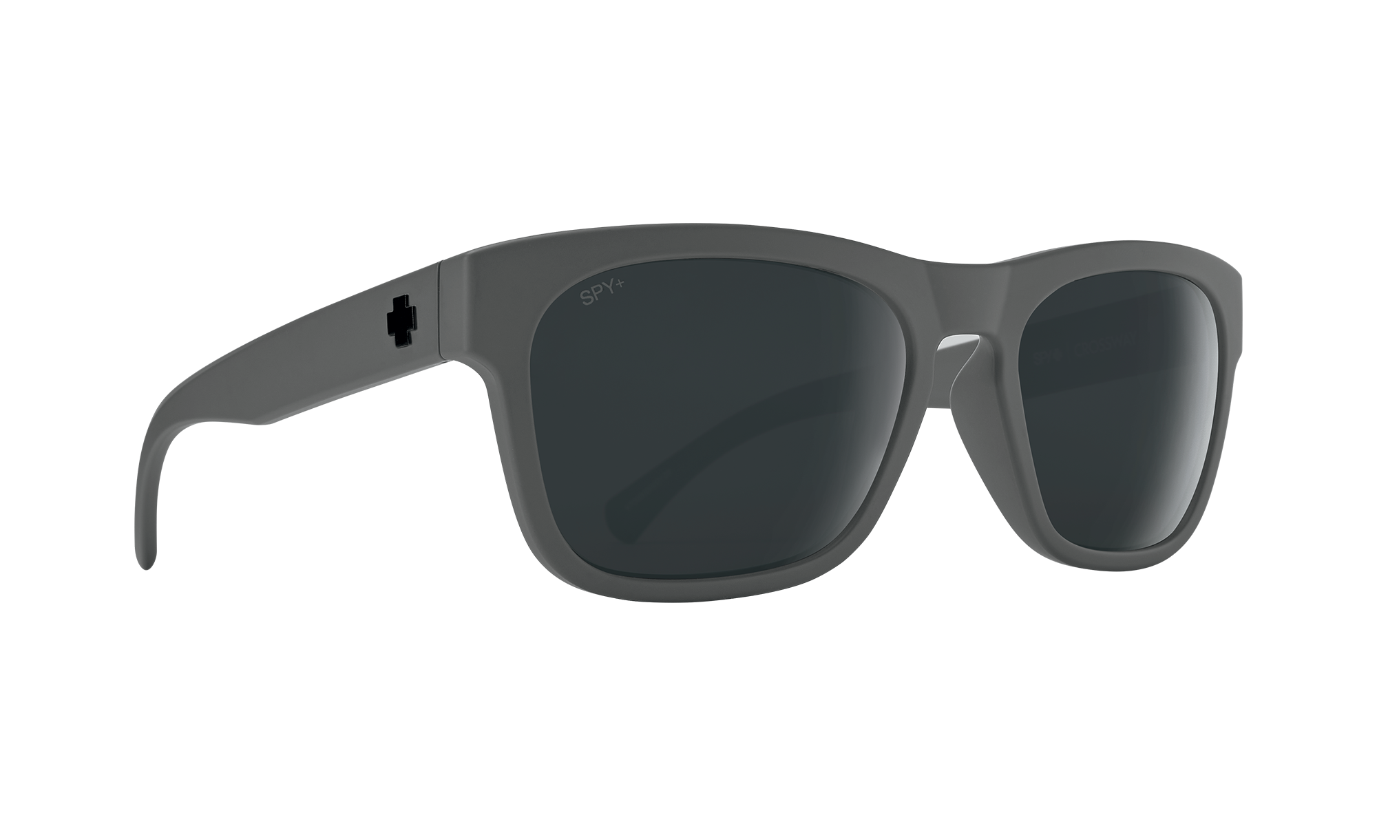 Crossway Matte Gray (Gray Polarized with Black Spectra