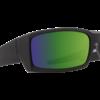 General Soft Matte BLK (HDPLUS Happy Bronze Polarized with Green Spectra Mirror)