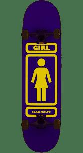 GIRL MALTO 93 TIL COMPLETE (PUR/YEL) 7.875