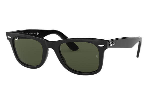 Wayfarer Black W/ G-15 Green