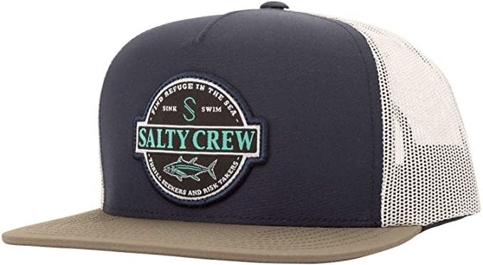 Deep Sea Trucker (Navy/Silver)