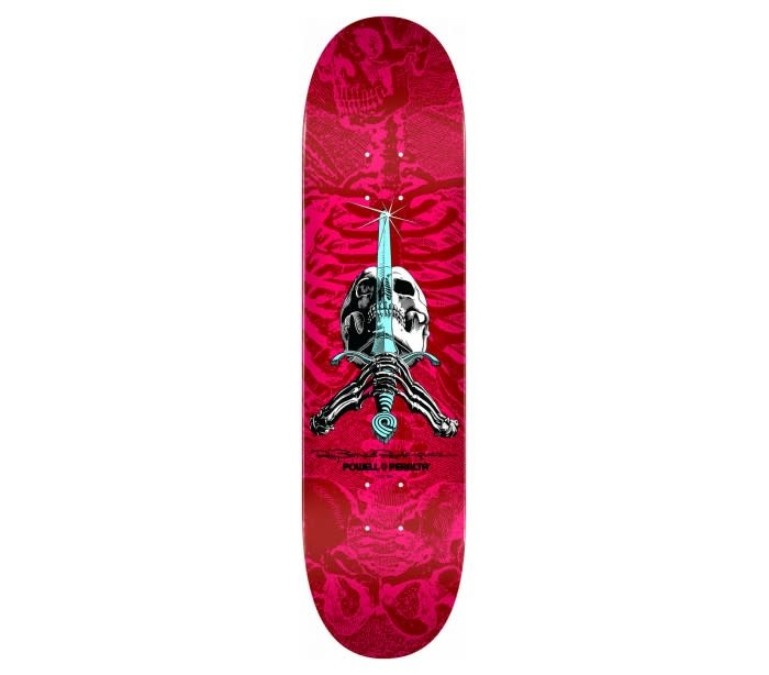 Skull And Sword  (Pink Red) 8.5
