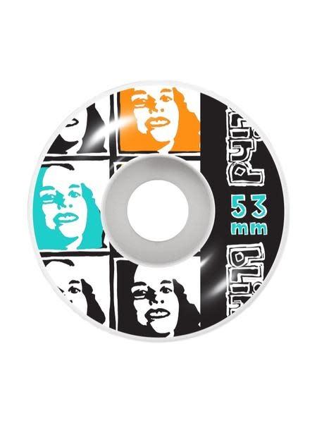 Psychedelic Multi Girl Wheel 53mm