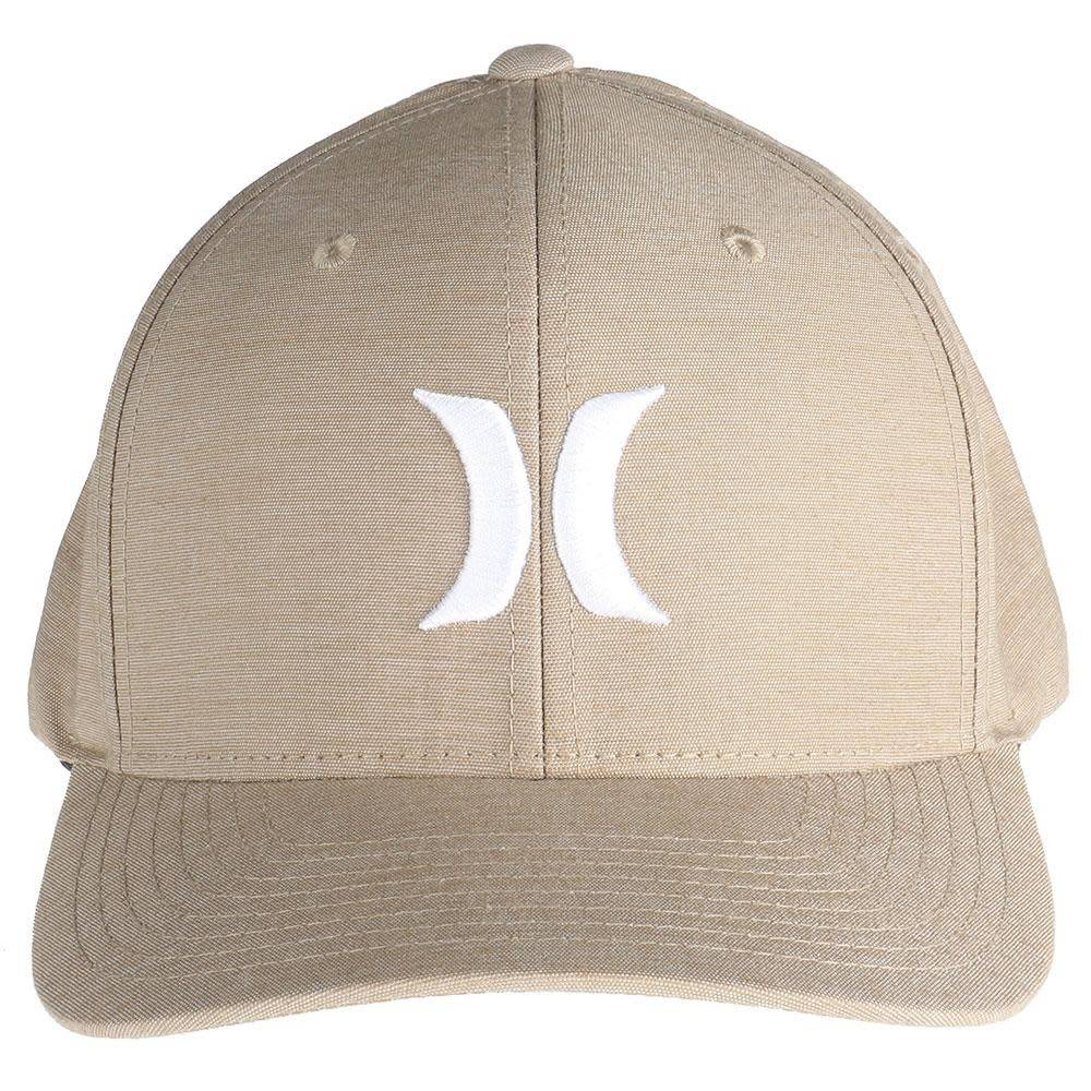 M HRLY DF BREATHE HAT KHAKI/(WHITE) L-XL