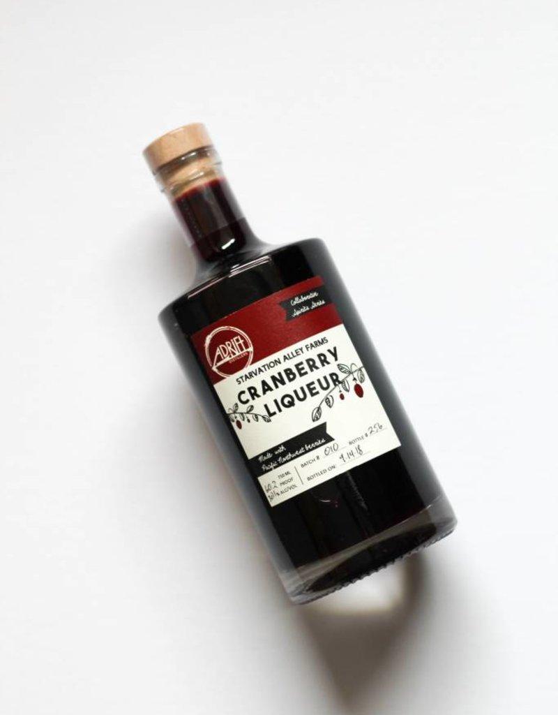 Adrift Distillers Starvation Alley Cranberry Liqueur 750mL