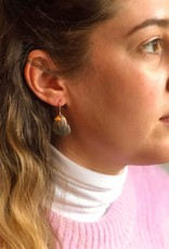 Jacob's Hammer Oyster Earrings