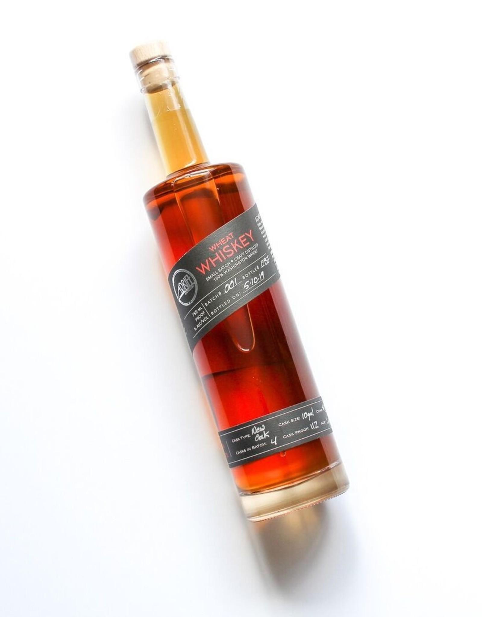 Adrift Distillers Wheat Whiskey 750mL