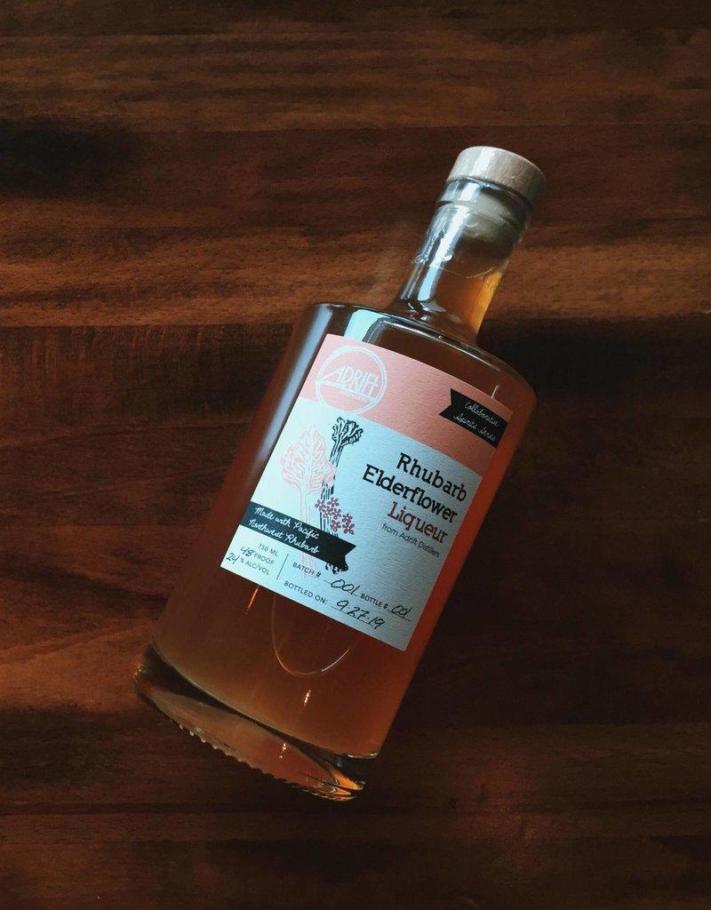 Adrift Distillers Rhubarb Elderflower Liqueur 375 mL