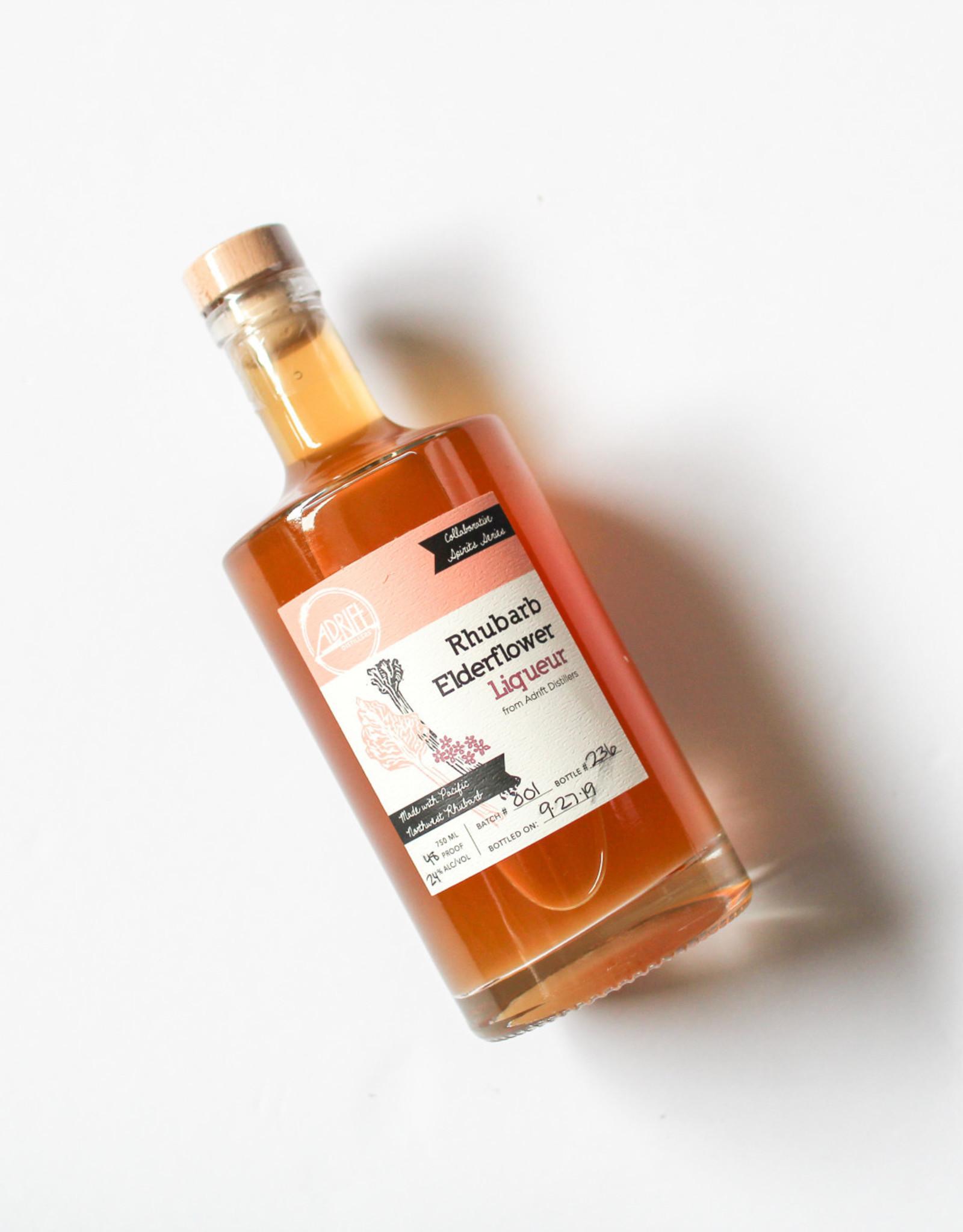 Adrift Distillers Rhubarb Elderflower Liqueur