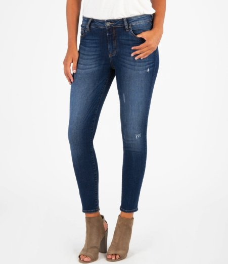 DONNA HIGH RISE ANKLE SKINNY (GRAND WASH)