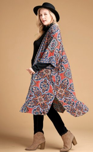 A Touch of Boho Kimono