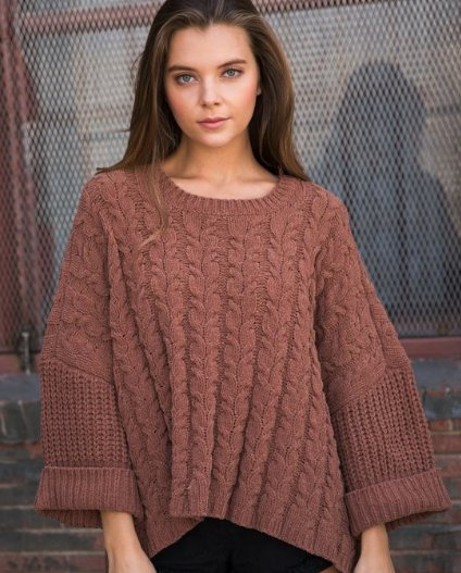Russet Box Sweater