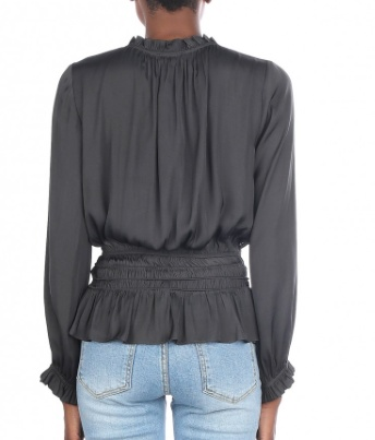 Charcoal Blouse