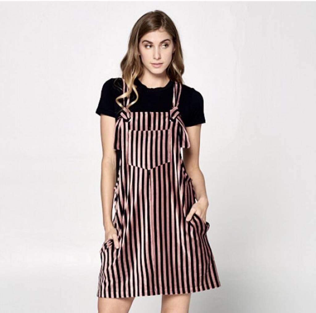 Stripe Cord Dress