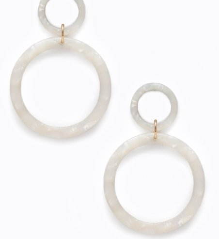 SORRENTO EARRINGS PEARL