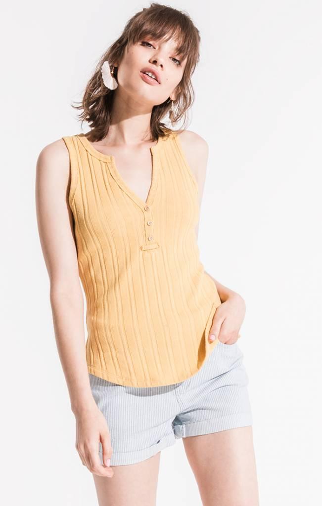 Jane Tank - Mellow Yellow