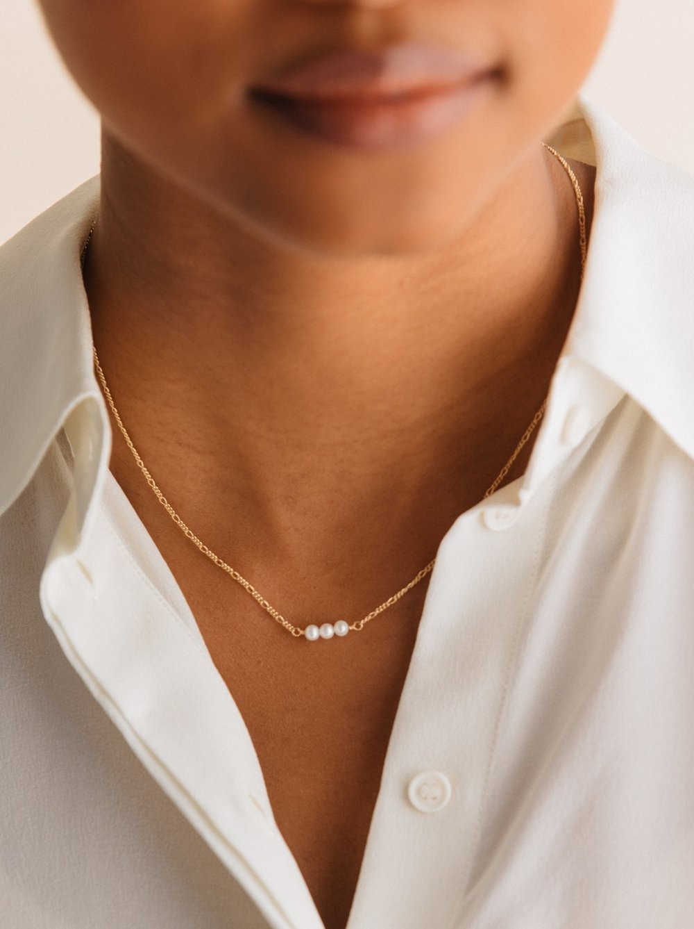 SERENDIPITY NECKLACE PEARL