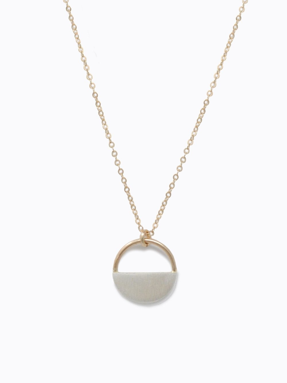 RUMI NECKLACE TWO TONE