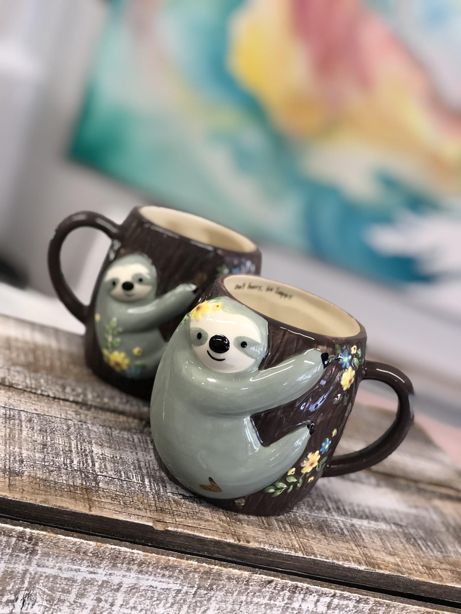 Folk Mug Sloth