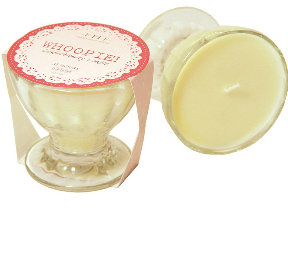 Mini Glass Whoopie! Confectionery Candle