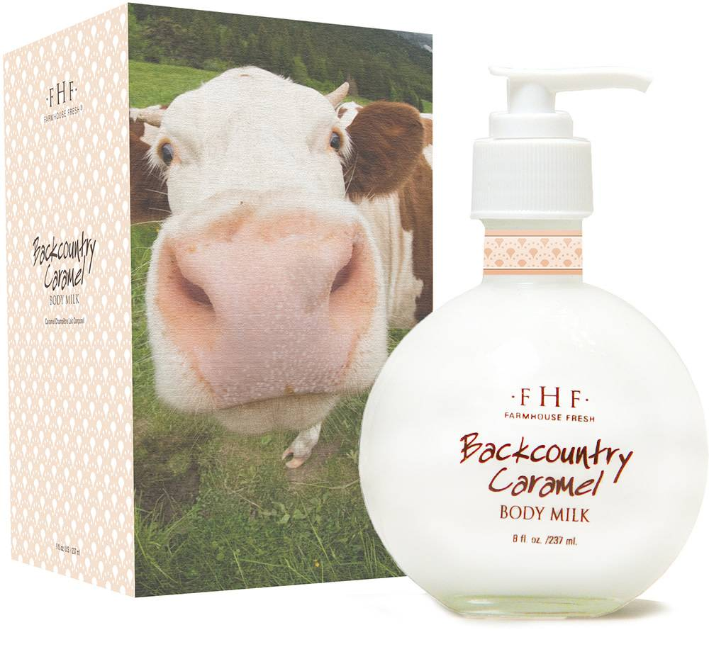 Back Country Caramel Body Milk