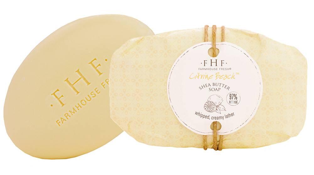Citrine Beach Shea Butter Soap