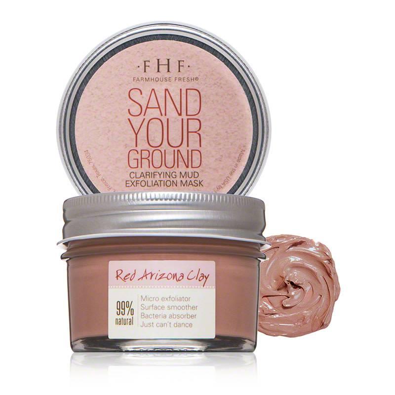 Sand Your Ground - Clarifying Mud Exfoliation Mask