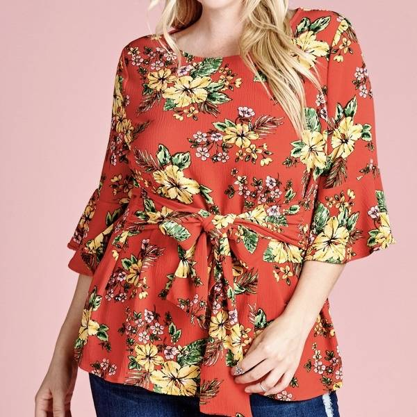 Yellow Lilly Top