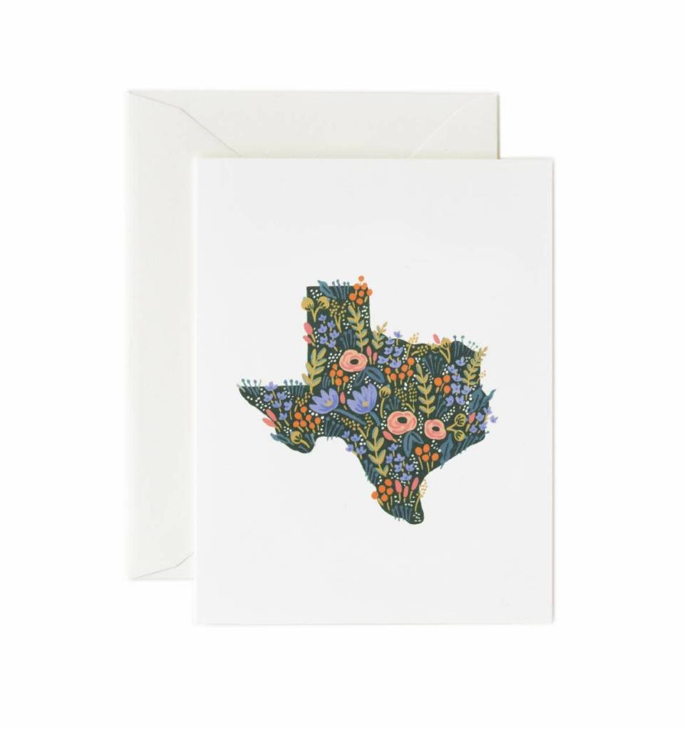 Texas Wildflowers Card