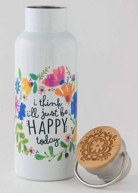 Travel Bottle Happy Today