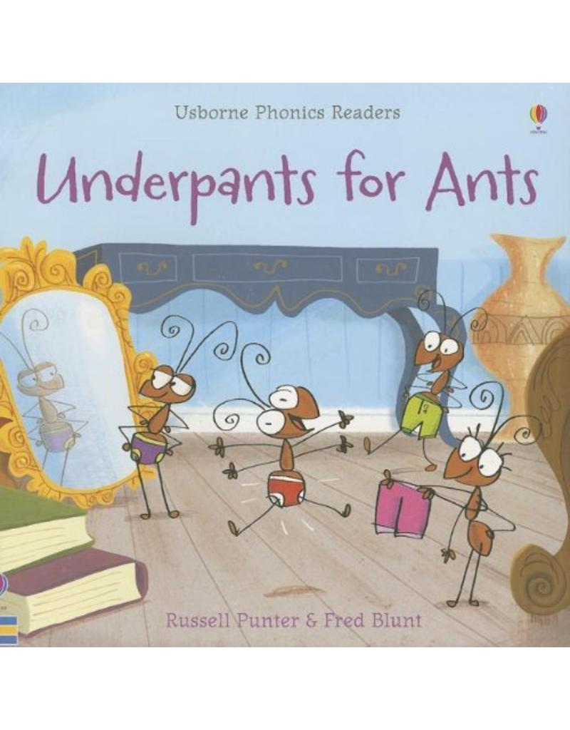 Educational Development Corp Usborne Phonics Readers Underpants for Ants