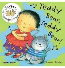 Child's Play Teddy Bear, Teddy Bear! (Sign & Singalong)
