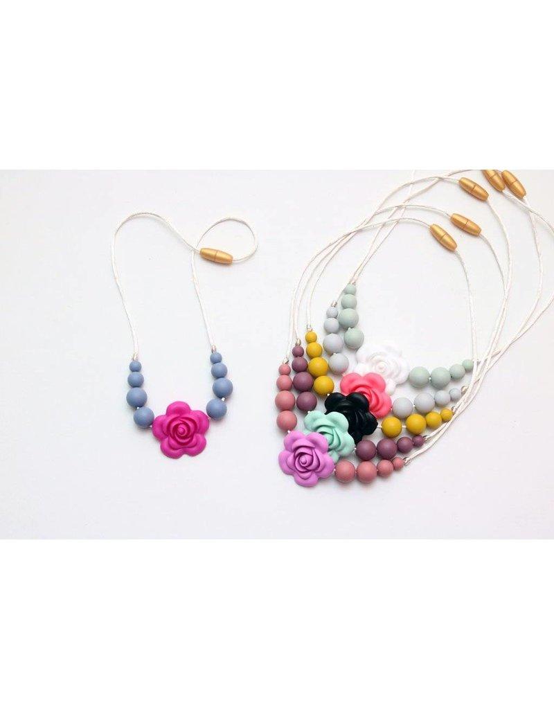 Getting Sew Crafty Getting So Crafty Silicone Flower Child Necklace