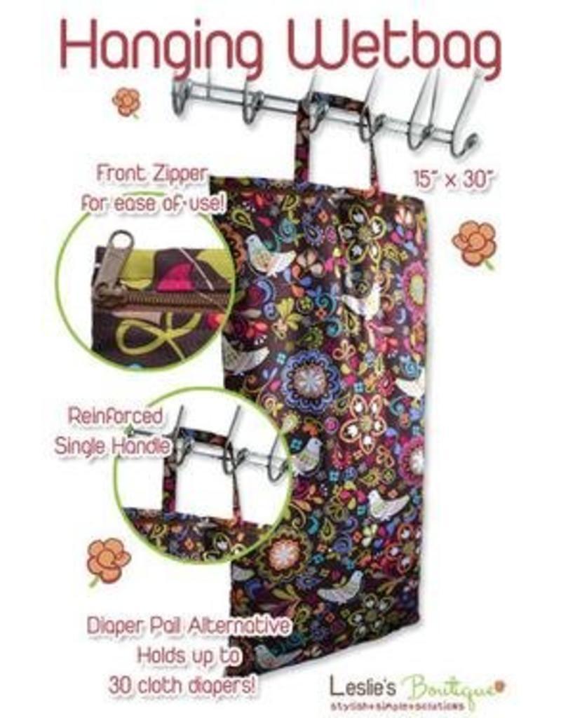 Leslie's Boutique Hanging Wet Bag