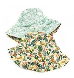 Urban Baby Bonnets Urban Baby Bonnet Bucket Hat Jewel Jungle XS