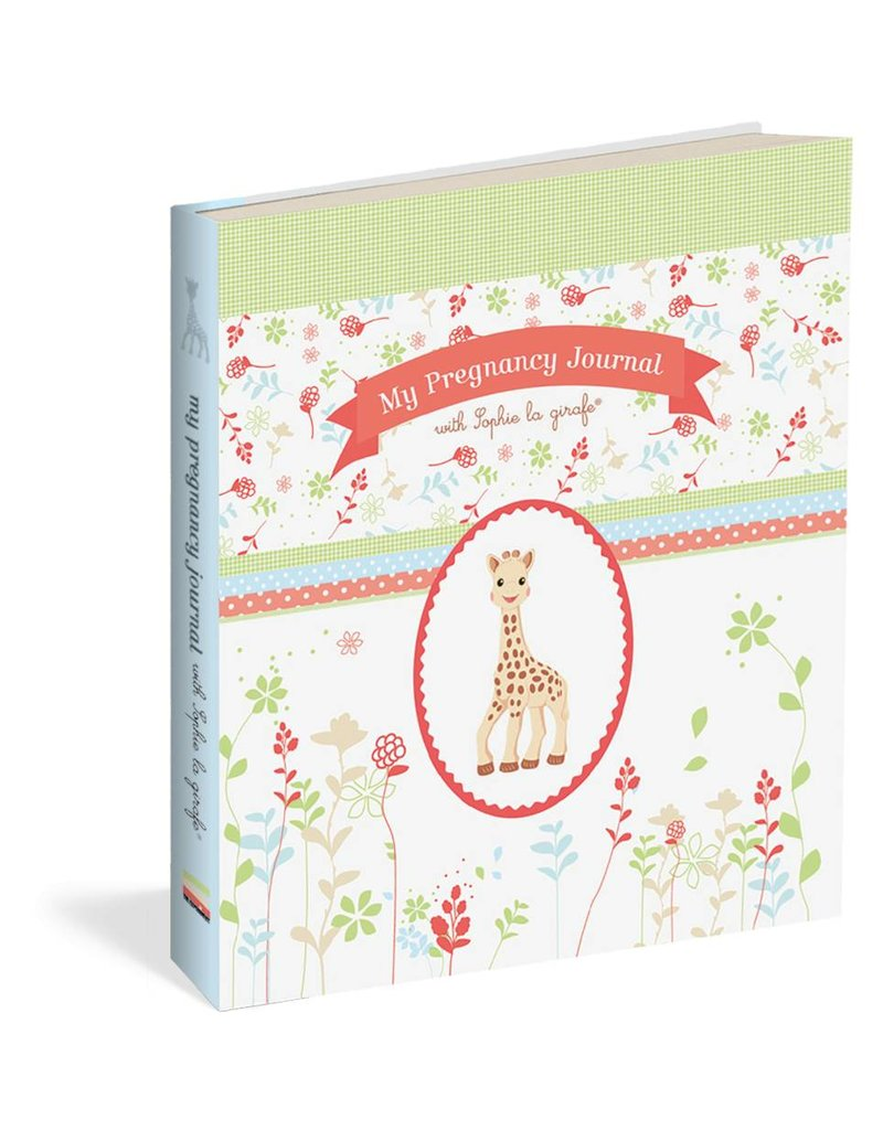Workman Publishing Group My Pregnancy Journal with Sophie the giraffe