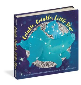 Workman Publishing Co WPC Crinkle, Crinkle, Little Star Board Book