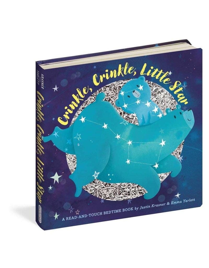 Workman Publishing Co WPC Crinkle, Crinkle, Little Star Board Book