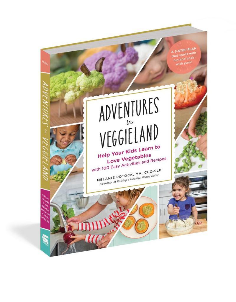 Workman Publishing Group Adventures in Veggieland - Parenting Book
